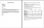 employment reference check form template - peformance appraisal form