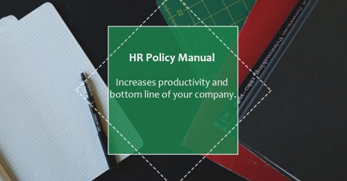 human resources policy manual template